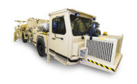 Charmec MF 605 DA charger designed for face and production charging in underground mines and tunnels