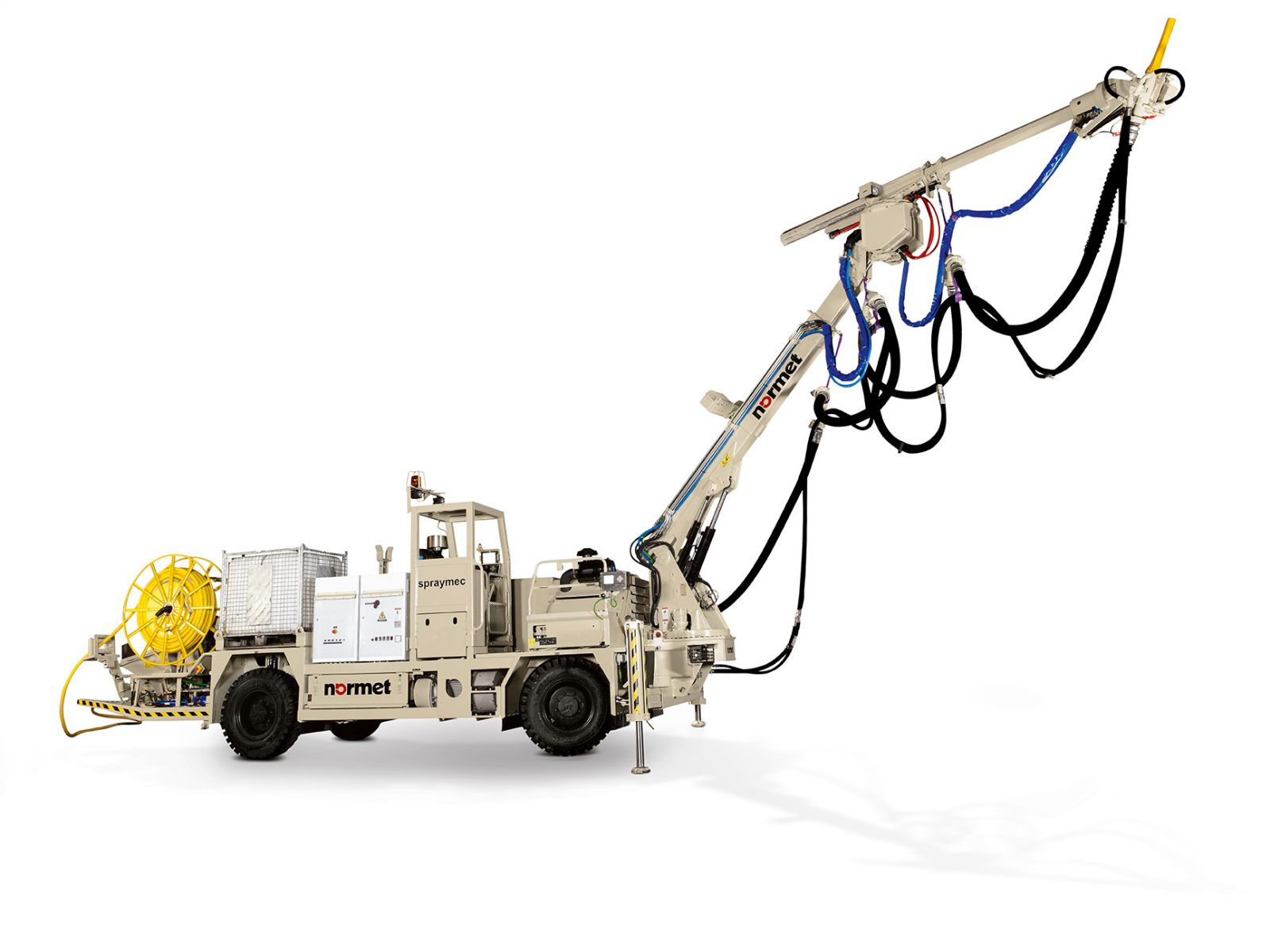 Wet Mix Concrete Spraying Equipment Archives - Normet