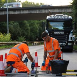 Re-levelling Roadworks