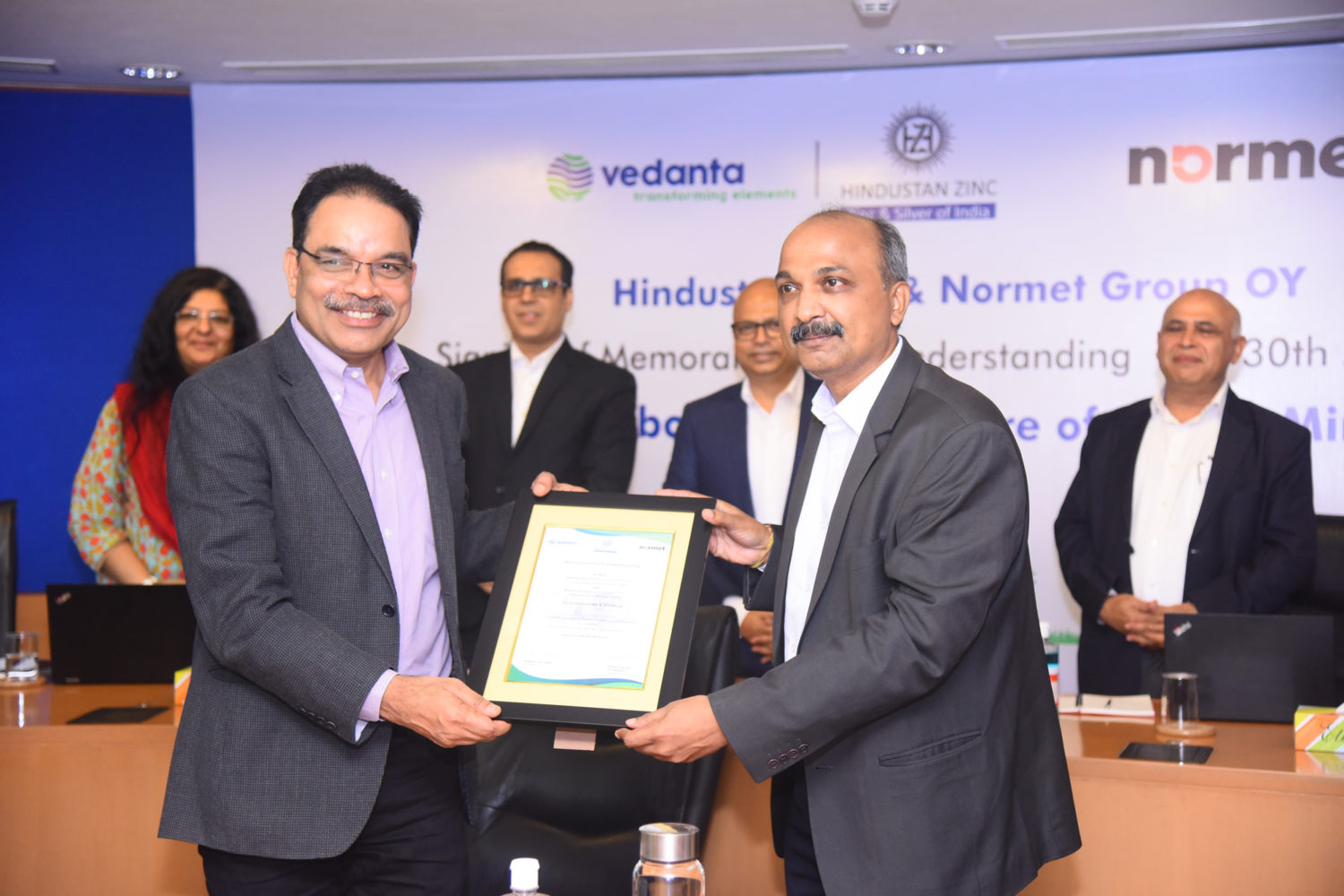 Normet Group Oy and Hindustan Zinc Limited signed a Memorandum of Understanding (MoU) to deploy battery-powered service equipment and utility vehicle in their underground mining.